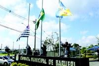 Barueri 68 anos: hasteamento das bandeiras marca início das comemorações