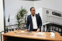 Câmara de Barueri recebe visita do vereador presidente de São José dos Campos