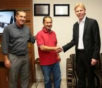 Câmara Municipal de Barueri recebe visita de empresário sueco