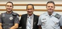 Câmara Municipal de Barueri recebe visita de novo comandante da PM
