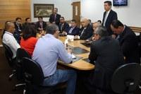 Câmara Municipal recebe diretoria da Sabesp