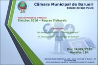 Ciclo de Palestras e Debates – Eleições 2016