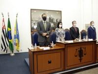 Justiça Eleitoral diploma vereadores, prefeito e vice eleitos