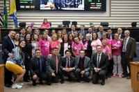 Secretaria da Mulher destaca atuação do Poder Legislativo no Outubro Rosa