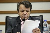 Sérgio Baganha pede manutenção em academia pública do Maria Helena