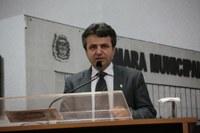 Sérgio Baganha propõe instalação de academia ao ar livre no Jardim Belval