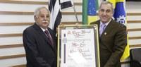Vereador Bidu presta homenagem a Mário Lopes